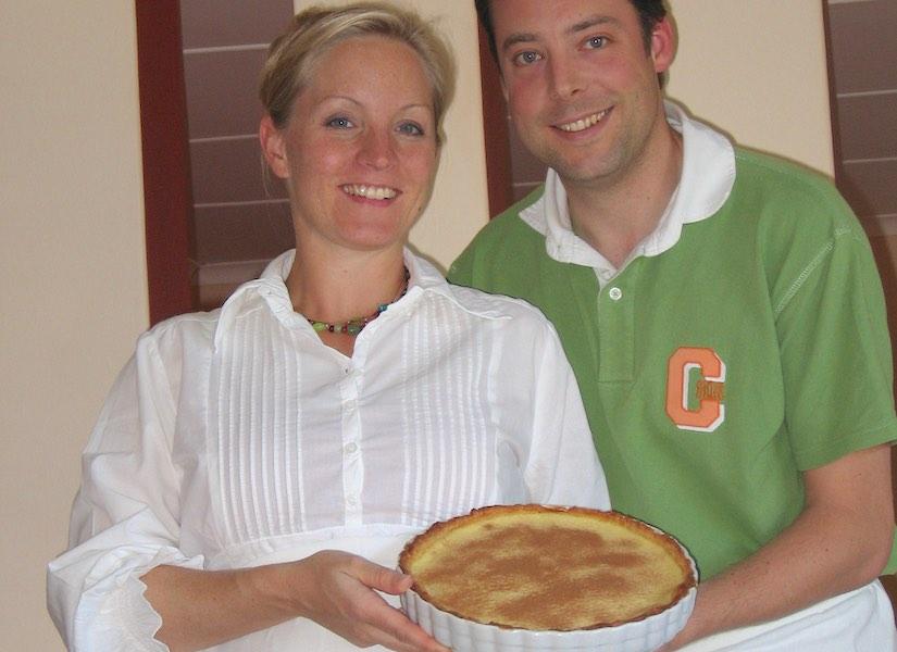Dessert indulgence in the desert – Milktart Cheesecake